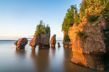 Hopewell Rock, New Brunswick, Canada Fototapete