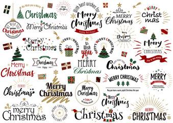 クリスマス文字