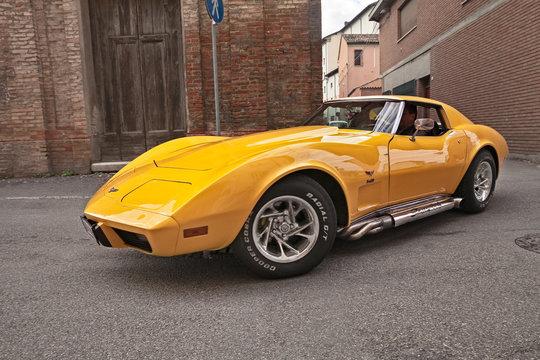 vintage Cheevrolet Corvette C3 Stingray