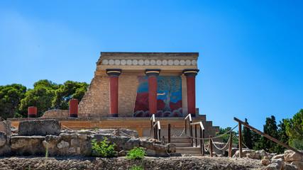 Palazzo di Cnosso a Heraklion, Creta, Grecia