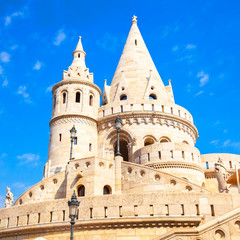 Fototapete - Fisherman's Bastion in Budapest, Hungary