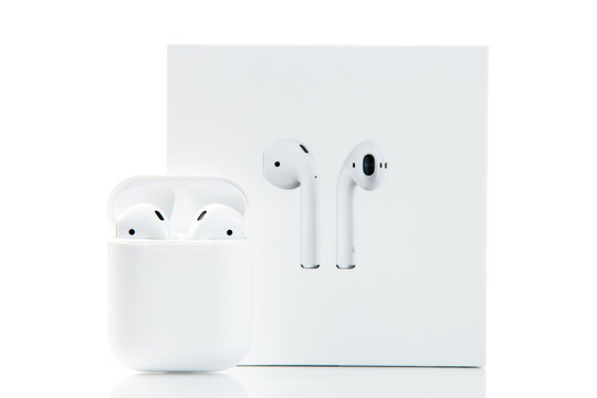 Apple airpods isolated