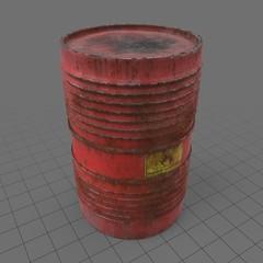 Old red barrel