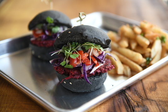 beet burger vegan vegetarian