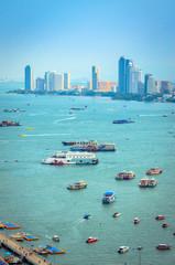 Beautiful cityscape of Pattaya, Thailand