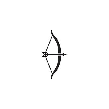 Archery. Vector logo icon template