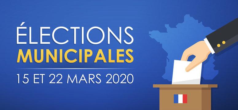 Élections Municipales 2020 en France - 15 et 22 Mars 2020