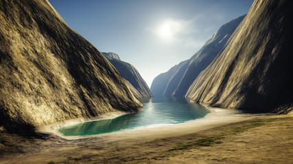 Fantasy Canyon Beach
