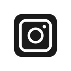 Instagram logotype camera icon