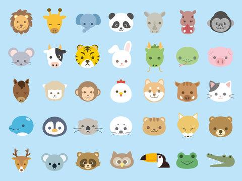 動物アイコンセット3