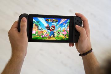 Mario Rabbids Switch