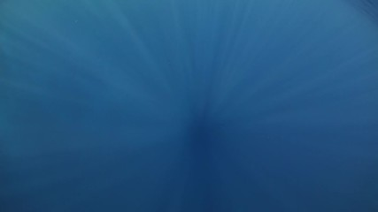 Wall Mural - Sun rays and the profound depth of the Red Sea