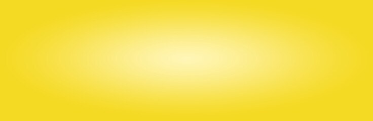illustration of yellow  with highlight in center, panoramic background image