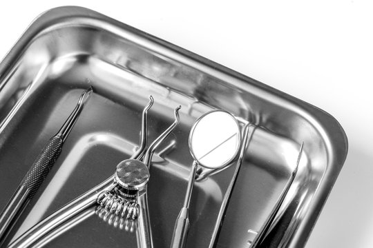 preparation of dental instruments before work