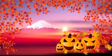 ハロウィン 秋 かぼちゃ 背景