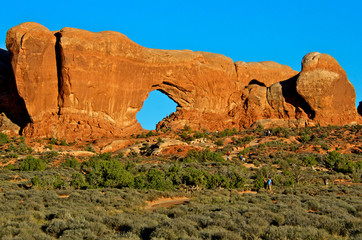 North window, Arches National Park, UT