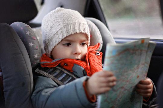 Family car travel and transportation