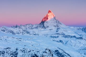 Matterhorn at sunrise, Switzerland