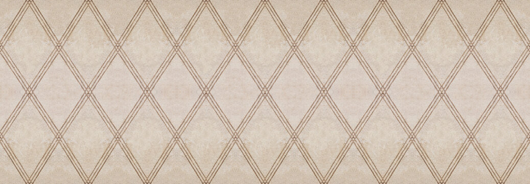 New plaster background texture in the shape of rhombus - It's a seamless texture that can be repeated modularly to create a uniform and continuously background. Useful for renderings applications