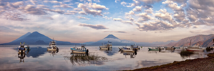 Lago de Atitlán, Panajachel, Guatemala