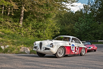 Alfa Romeo 1900 SSZ Zagato (1955) in Mille Miglia 2016
