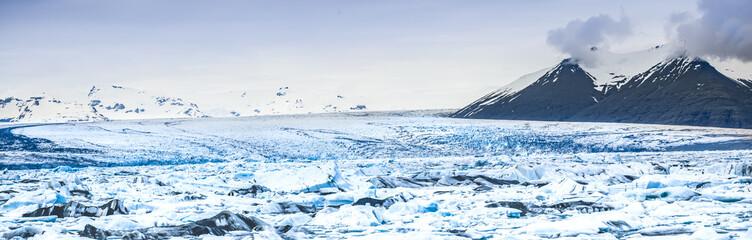 Jökulsárlon glacier lake in the south of iceland 3