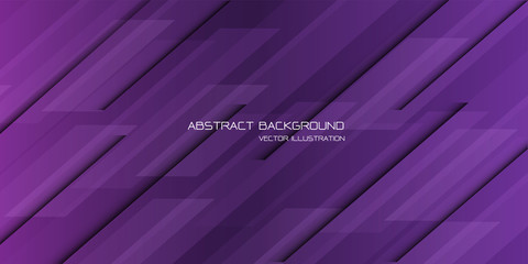 Abstract violet black line geometric pattern design modern futuristic background vector.