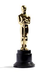 Replica of an Oscar award