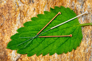 Alternativmedizin mit Akupunktur
