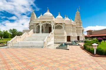 Hindu Swaminarayan BAPS Temple in Chicago, USA