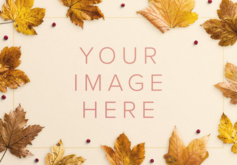 Autumn Foliage Mockup