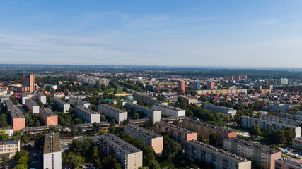 Tarnobrzeg- Panorama miasta