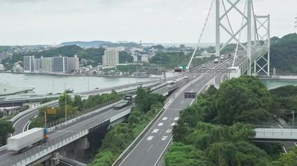 Wall Mural - 関門橋 ノーマルスピード