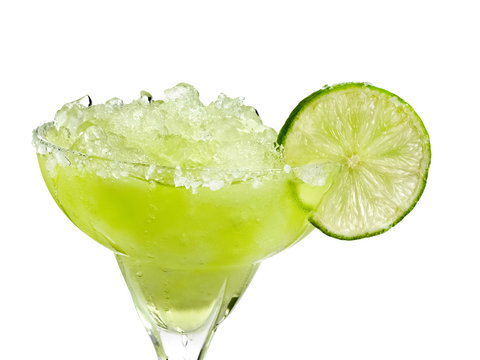 Margarita cocktail, close up