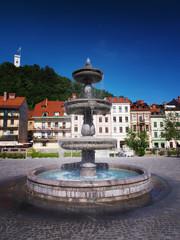 Ljubljana, capital of Slovenia, Europe