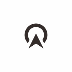 North Arrow Simple Logo