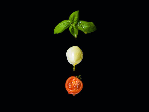 Tomate Mozzarella Basilikum