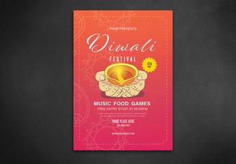 Diwali Festival Flyer Layout
