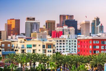 San Diego, California, USA downtown cityscape