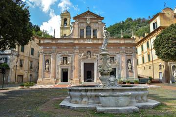 Fototapete - Santuario di Nostra Signora della Misericordia