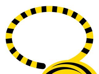 虎の尻尾のフレーム