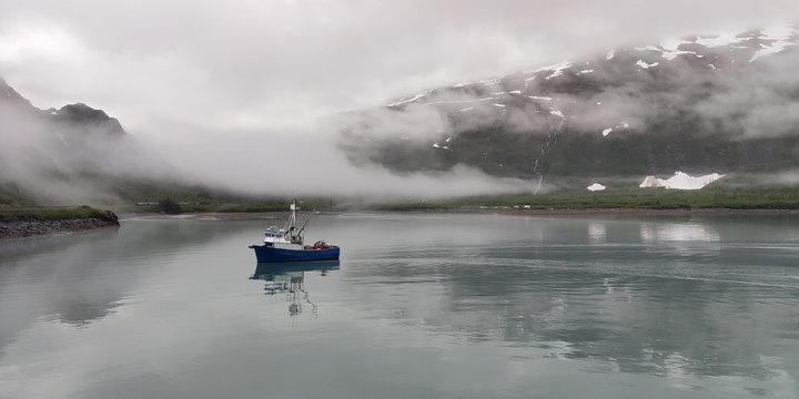 Fishing boat Alaska