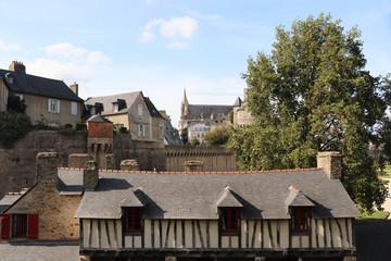 Altstadt von Vannes, Bretagne