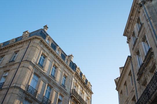 Bordeaux immobilier immeuble ancien façade