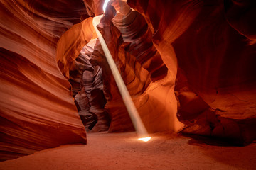 Foto op Plexiglas Antilope Slot Canyon - Page Arizona USA