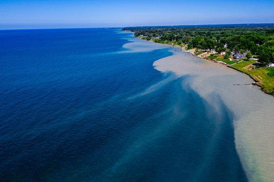 Lake Erie Coastline, Ashtabula Ohio