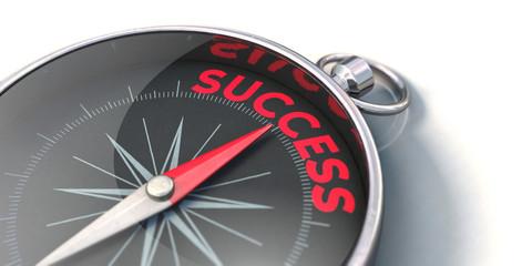 Compass points towards success