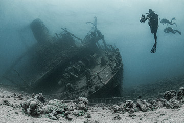 Photo sur Aluminium Naufrage Wreck of Ghiannis D