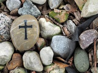 Cross on Rock - 88