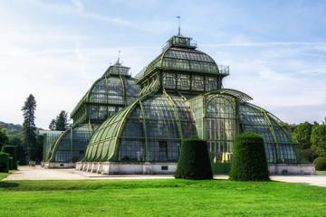 Spoed Foto op Canvas Wenen palmenhaus schonbrunn palace garden